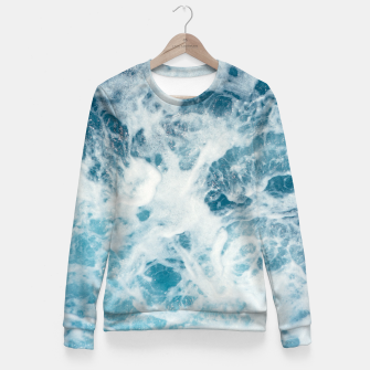 Miniatur Ocean Miracle Fitted Waist Sweater, Live Heroes