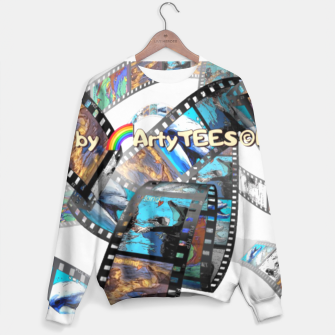 Thumbnail image of Be Kind Dolphin Photofilm  Sweater, Live Heroes