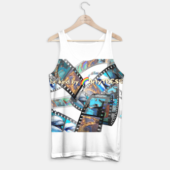 Thumbnail image of Be Kind Dolphin Photofilm  Tank Top, Live Heroes
