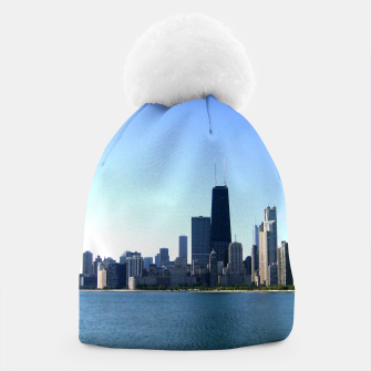 Thumbnail image of Chicago Skyline beanie, Live Heroes
