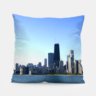 Thumbnail image of CHicago Skyline Pillow, Live Heroes