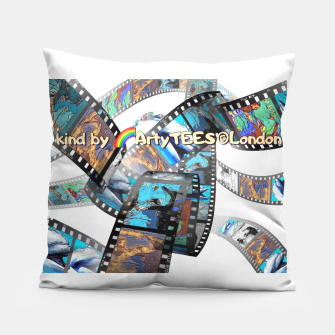Thumbnail image of Be Kind Dolphin Photofilm  Pillow, Live Heroes