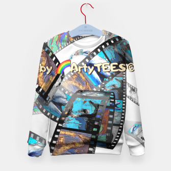 Thumbnail image of Be Kind Dolphin Photofilm  Kid's Sweater, Live Heroes