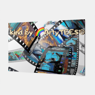 Thumbnail image of Be Kind Dolphin Photofilm  Canvas, Live Heroes