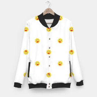 Miniature de image de Happy Sun Motif Kids Pattern Baseball Jacket, Live Heroes