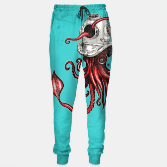 Thumbnail image of Squid with Diving Helmet Sweatpants, Live Heroes