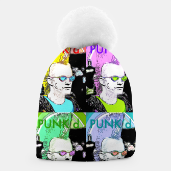 Thumbnail image of PUNK'd Popart Beanie, Live Heroes
