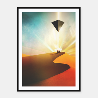 Thumbnail image of Dune Framed poster, Live Heroes