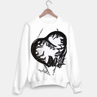 Thumbnail image of Love love love calligraphy Yulia cntr Sweater regular, Live Heroes