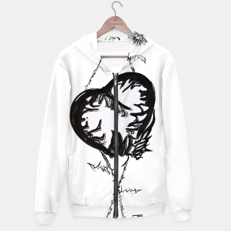Thumbnail image of Love love love calligraphy Yulia cntr Hoodie, Live Heroes