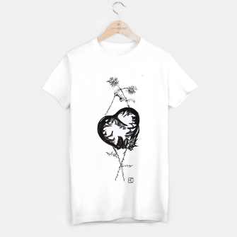 Thumbnail image of Love love love calligraphy Yulia cntr T-shirt regular, Live Heroes