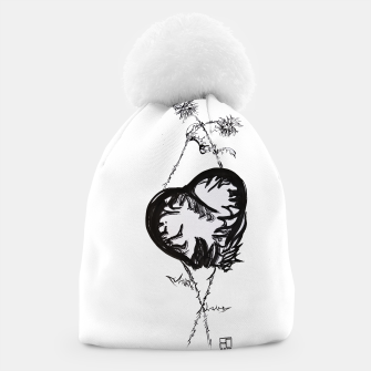 Thumbnail image of Love love love calligraphy Yulia cntr Beanie, Live Heroes