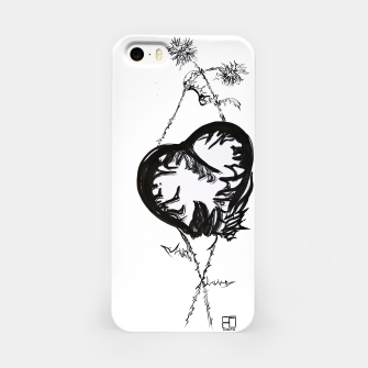 Thumbnail image of Love love love calligraphy Yulia cntr iPhone Case, Live Heroes