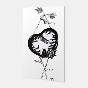 Thumbnail image of Love love love calligraphy Yulia cntr Canvas, Live Heroes