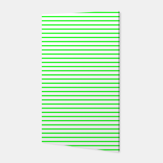 Miniatur Thin Green Lines Canvas, Live Heroes