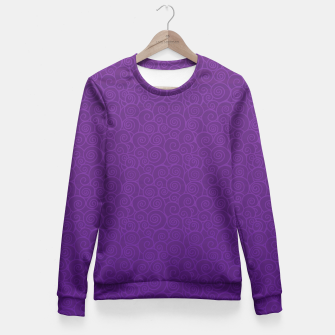 Thumbnail image of Mei Skin Heliotrope Pattern Fitted Waist Sweater, Live Heroes