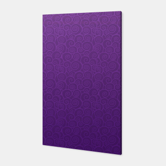 Thumbnail image of Mei Skin Heliotrope Pattern Canvas, Live Heroes