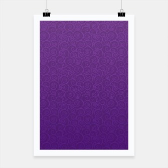 Thumbnail image of Mei Skin Heliotrope Pattern Poster, Live Heroes