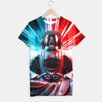Thumbnail image of Techno Buddha T-shirt, Live Heroes