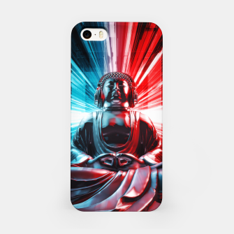 Techno Buddha iPhone Case thumbnail image
