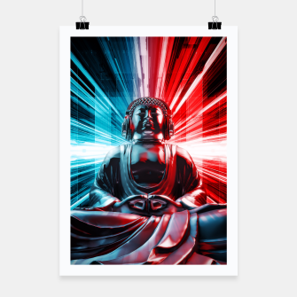 Thumbnail image of Techno Buddha Poster, Live Heroes
