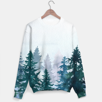 Miniatur Winter forest Sudadera, Live Heroes