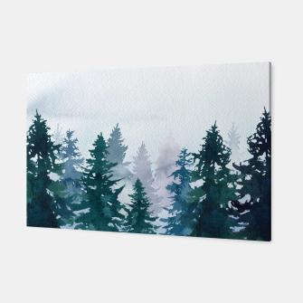 Miniatur Winter forest Canvas, Live Heroes