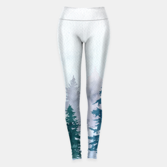 Miniatur Winter forest Leggings, Live Heroes