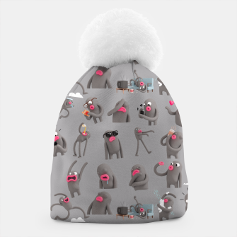 Thumbnail image of Lars Pattern Beanie, Live Heroes
