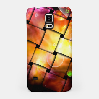 Thumbnail image of It's A Wacky Inter-Dimensional Stellar Nursery Weave Samsung Case, Live Heroes