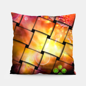 Thumbnail image of It's A Wacky Inter-Dimensional Stellar Nursery Weave Pillow, Live Heroes