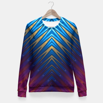 Thumbnail image of Blue Ridge Gold Fitted Waist Sweater, Live Heroes