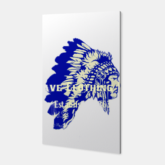 Miniatur Native American Cut Out Canvas, Live Heroes