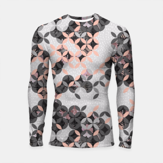 Miniatur Mosaic patterned and flowering I Longsleeve Rashguard, Live Heroes