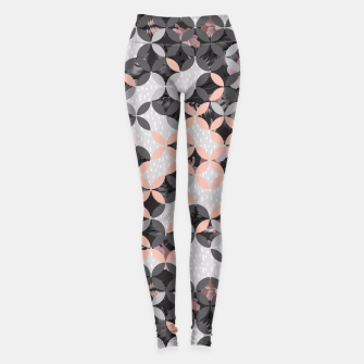 Miniatur Mosaic patterned and flowering I Leggings, Live Heroes