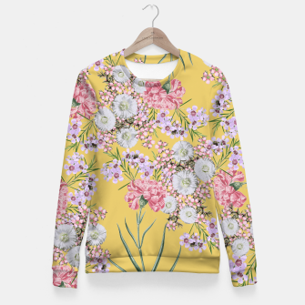 Miniatur Natural Beauty - Floral Print Fitted Waist Sweater, Live Heroes