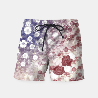 Miniatur the Stars and Stripes thank you America  Swim Shorts, Live Heroes