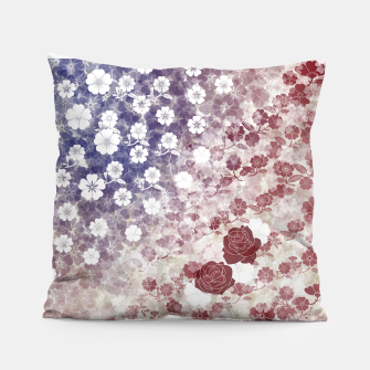 Miniatur the Stars and Stripes thank you America  Pillow, Live Heroes