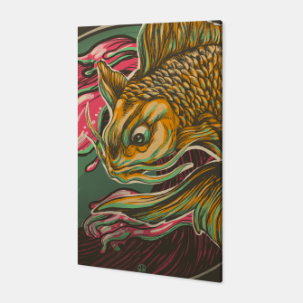 Miniatur Japanese Fish Canvas, Live Heroes