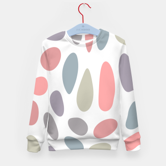 Thumbnail image of Colorful pastel pebbles Kid's Sweater, Live Heroes