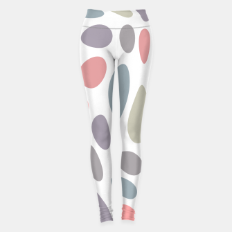 Thumbnail image of Colorful pastel pebbles Leggings, Live Heroes