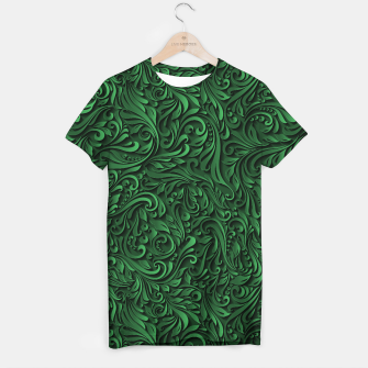 Thumbnail image of floral pattern T-shirt, Live Heroes