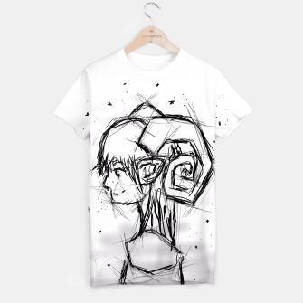 Thumbnail image of Aries Sketch T-Shirt, Live Heroes