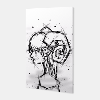 Miniatur Aries Sketch Canvas, Live Heroes