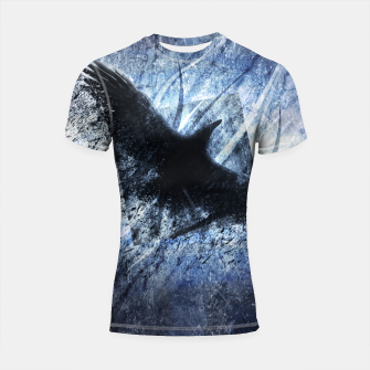 Miniature de image de Winter Winds are Cold and Heartless Shortsleeve Rashguard, Live Heroes