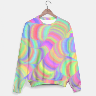 pastel worms Sweater miniature