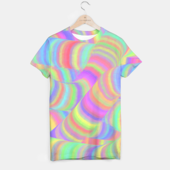 pastel worms T-shirt miniature