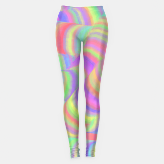 pastel worms Leggings miniature