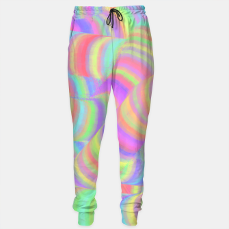 pastel worms Sweatpants miniature