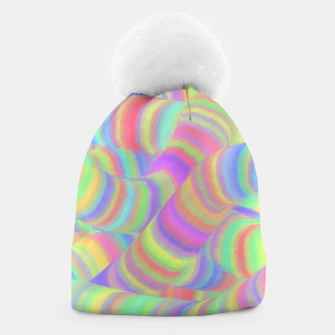 pastel worms Beanie miniature
